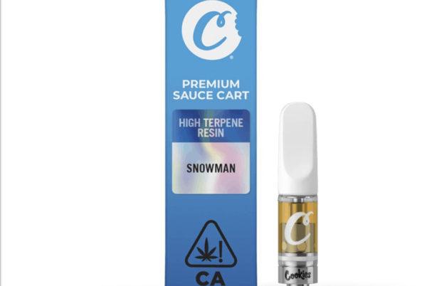 Snowman Live Sauce Cart